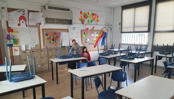 כיתה ריקה , צילום: תומר הדר