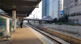 תחנת רכבת מרכז ריקה שוממה קורונה וירוס, צילום: עופר צור