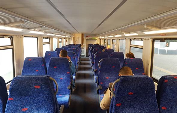 רכבת ישראל. תישאר ריקה, צילום: עופר צור
