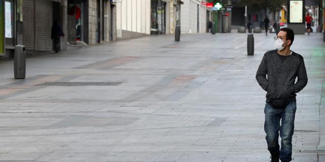 קורונה במדריד, צילום: רויטרס