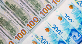 The USD is dropping relative to the Shekel. Photo: Shutterstock