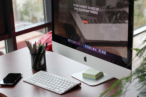 מחשב נייד אפל, צילום: pexels