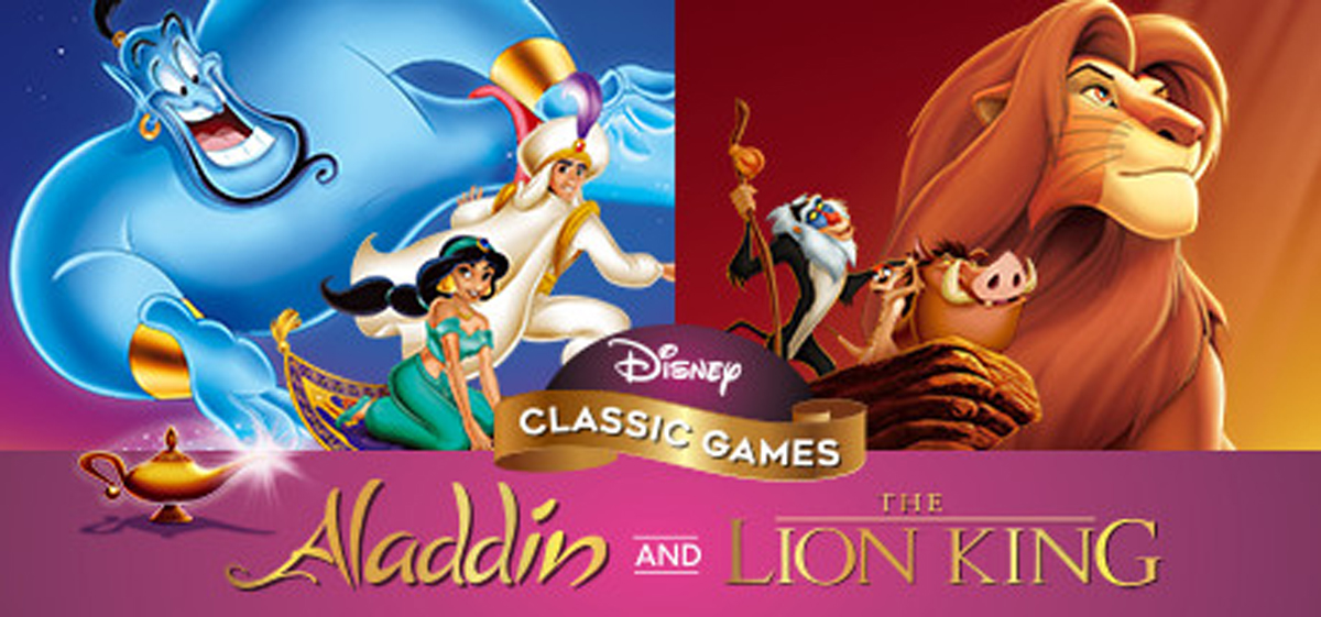 lion king + aladdin - Disney games