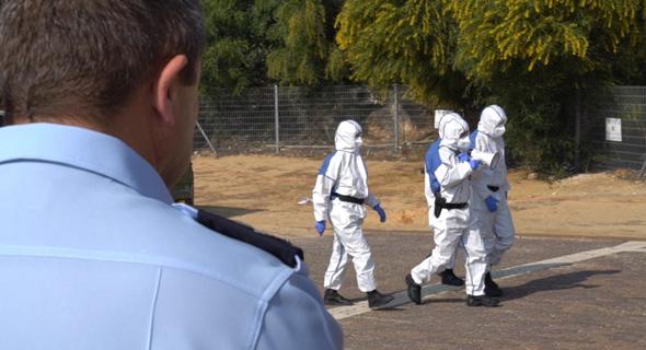 Special coronavirus taskforce. Photo: Israel Police spokesperson unit