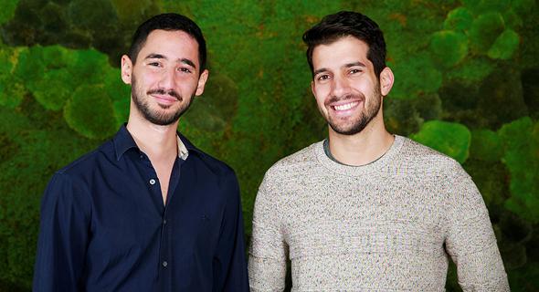 Axis Security co founders: Dor Knafo (left) and Gil Azrilant. Photo: Yarden Rokach