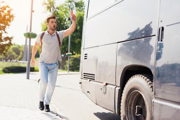 פיספסת את האוטובוס? אל תאשים את מרפי, צילום: שאטרסטוק