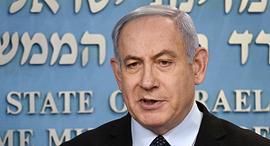 הצהרת ראש הממשלה בנימין נתניהו קורונה 19.3.20, צילום: יואב דודקביץ