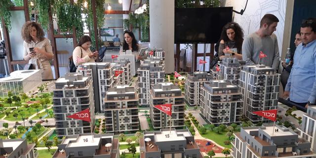 יריד מכירת דירות שהתקיים בשנה שעברה, צילום: דינור ישראל