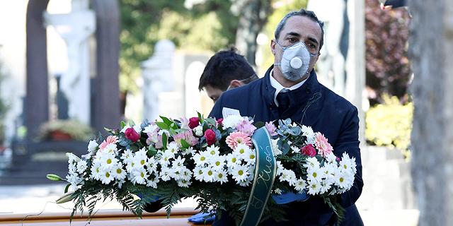 מספר המתים מקורונה באיטליה עלה ב-683; בריטניה: 405 אלף התנדבו לסייע בתוך 24 שעות
