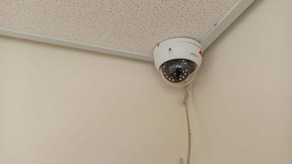מצלמה שהותקנה בבית החולים לניאדו