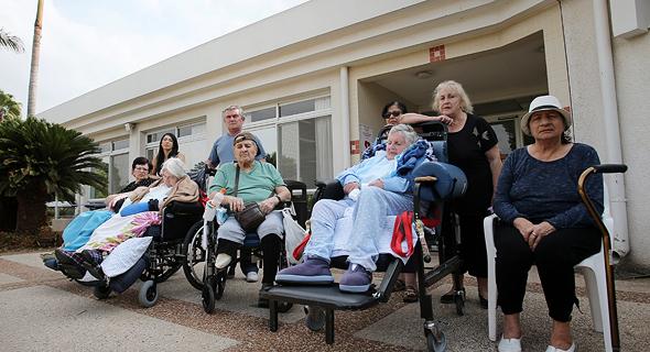 """בית החולים הגריאטרי מלב""""ן ראשון לציון, צילום: אבי מועלם"""