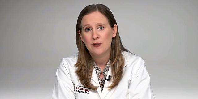 """ד""""ר אמילי לאנדון. """"סגר מוצלח פירושו שתרגישו שהיה מיותר"""" , צילום מסך: Youtube"""