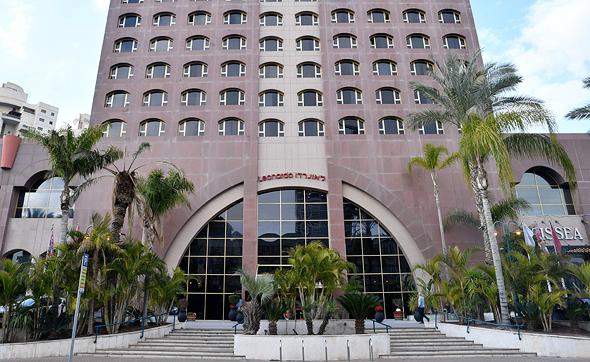 מלון לאונרדו בבאר שבע. רבים מהמובטלים החדשים עבדו במלונאות, צילום: חיים הורנשטיין