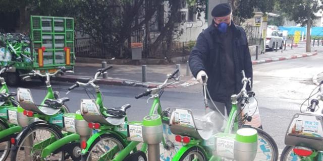 אופניים שיתופיים של תל אופן, צילום: תל אופן