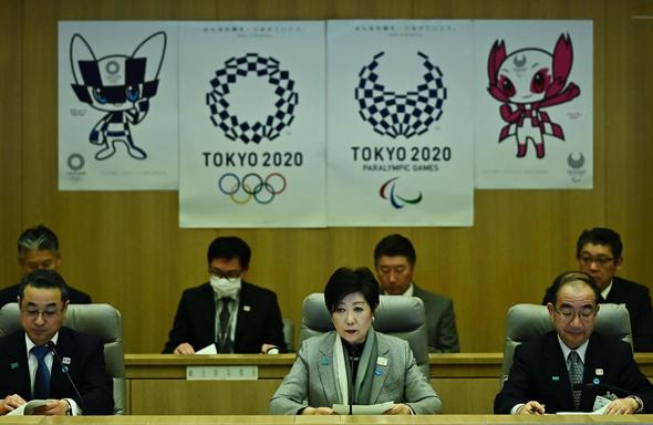 מושלת טוקיו יוריקו קויקה אולימפיאדה אולימפיאדת טוקיו 2020 יפן, צילום: איי אף פי