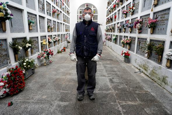 בית קברות ב-San Justo, ספרד