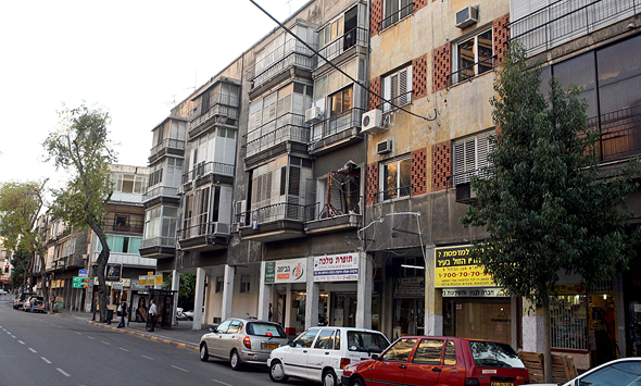 Ibn Gvirol Street in Tel Aviv. Photo: Michael Kramer