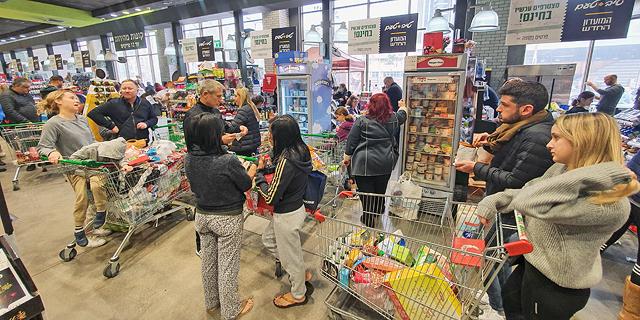 Israeli Supermarkets Enjoy Coronavirus-Fueled Boom