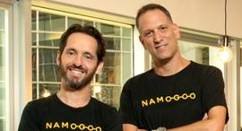 Namogoo co-founders Ohad Greenshpan and Chemi Katz. Photo: Efrat Sa'ar