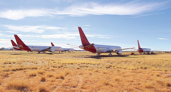 חניון המטוסים אסיה פסיפיק באוסטרליה