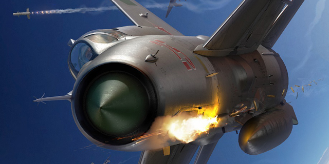 הקברניט מיג 21 מטוס קרב, צילום: DCS + Leatherneck Simulations