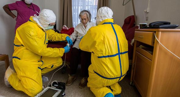 צוותים רפואיים בבלגיה