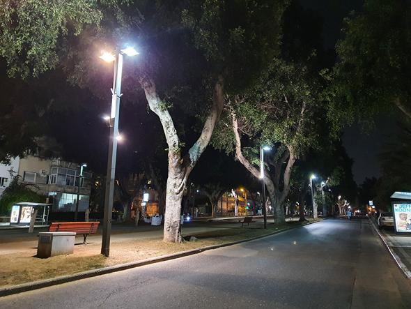 """רחובות ריקים בת""""א"""