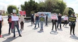הפגנה בימי קורונה. האתגר האמיתי הוא חברתי, צילום: דנה קופל