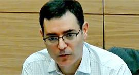 """משה בר סימן טוב מנכ""""ל משרד הבריאות ועדת הקורונה כנסת, צילום מסך: ערוץ הכנסת"""