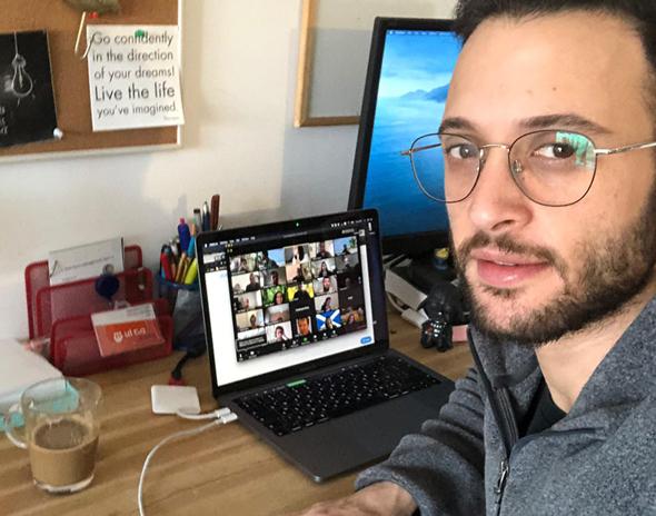 Senior software developer position Syte-Visual Conception, Elad Notti. Photo: Elad Notti