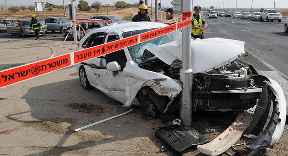 תאונת דרכים בצומת להבים, 26 במרץ 2020
