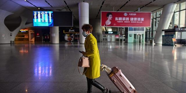 תחנת רכבת בווהאן, סין, צילום: גטי אימג