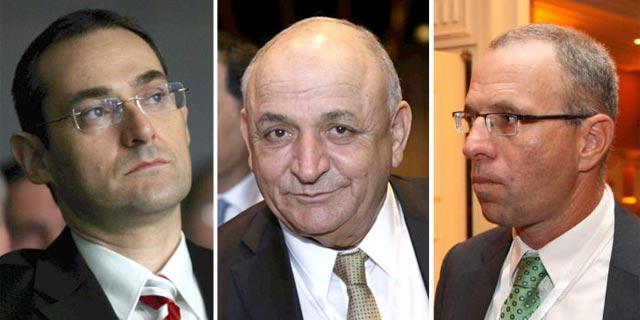 מימין: רוני בירם, יצחק תשובה וגיל דויטש, צילומים: עמית שעל