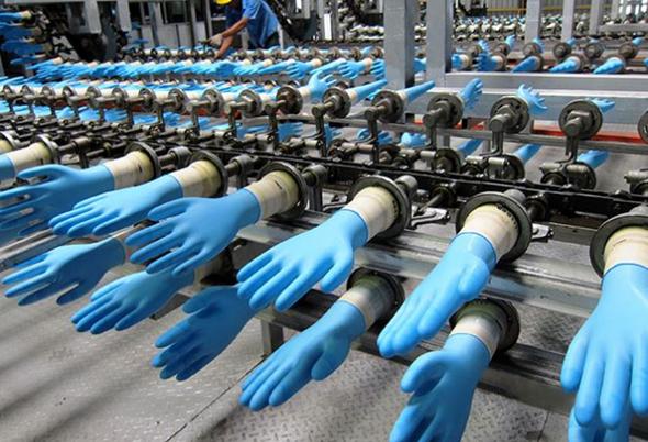 כפפות חד פעמיות של המפעל