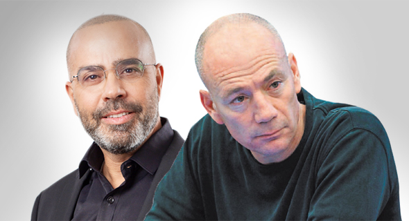 אבי ניר (מימין) ואבי בן טל. ההכנסות צנחו
