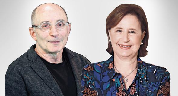 """יו""""ר ות""""ת יפה זילברשץ ונשיא אוניברסיטת חיפה רון רובין"""