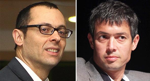 יועז הנדל וצבי האוזר , צילום:  עמית שעל, אוראל כהן