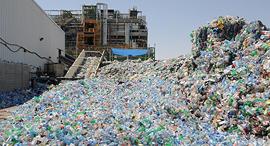 בקבוקי פלסטיק למיחזור. כ־20% מהציבור ממחזר בקבוקי שתייה, צילום: ישראל יוסף