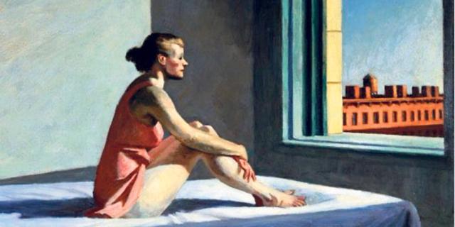 """ממציא הבדידות: הצייר שהוכתר כ""""אמן עידן הקורונה"""" שנים אחרי מותו"""