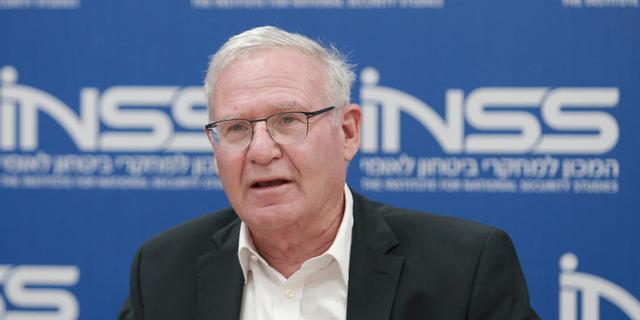ראש המכון למחקרי ביטחון לאומי עמוס ידלין , צילום: אוראל כהן