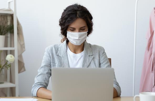 Working from home during Coronavirus pandemic. Photo: Shutterstock