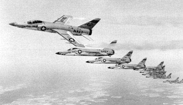 מבנה טייגרים באוויר, צילום: USN