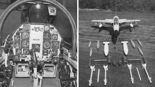 תא הטייס של הטייגר וחימושו, צילום: (sas1946 (USN