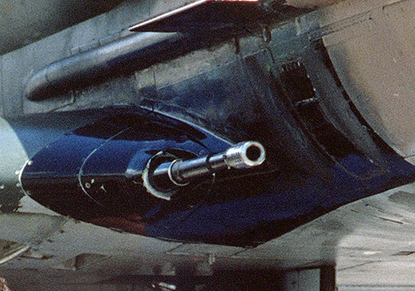 """תותח קולט MK12 בקוטר 20 מ""""מ, צילום: USAF"""