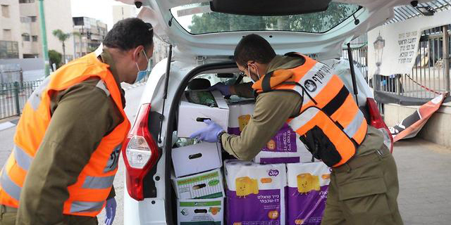 """נערכים לסגר: צה""""ל יפרסם מכרז להכנת חבילות מזון"""