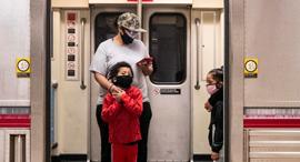 רכבת תחתית בלוס אנג'לס, צילום: אי פי איי