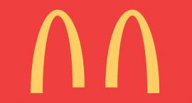 לוגו מקדונלדס הזמני