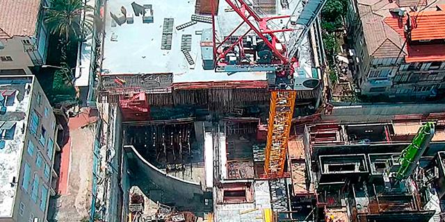"""העבודות במגדלי גפן. ענף הנדל""""ן למגורים צועד לכיוון חדש"""
