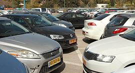 חניון רחוב הארד רמת החיל, צילום: אוראל כהן