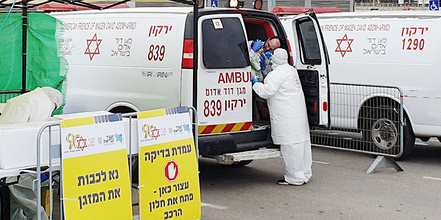 עלה ל-11,586 מספר חולי הקורונה בישראל, 116 מתו עד כה